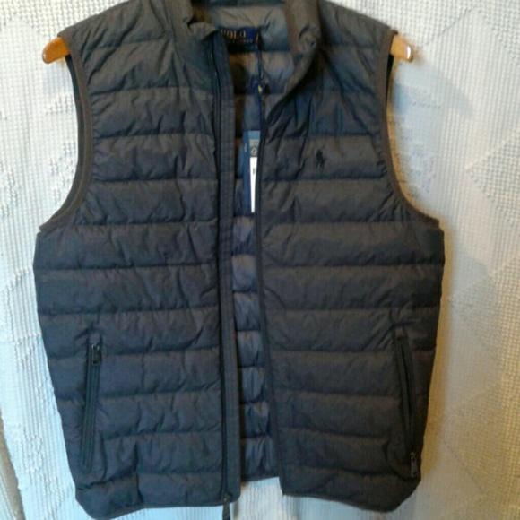ralph lauren down vest sweaters by ralph lauren